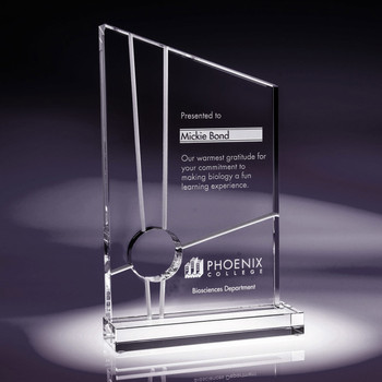 Interchange Crystal Award Buy Trophies Online