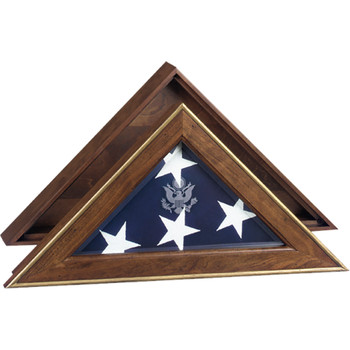 5 Star General Flag Case Military Burial Case