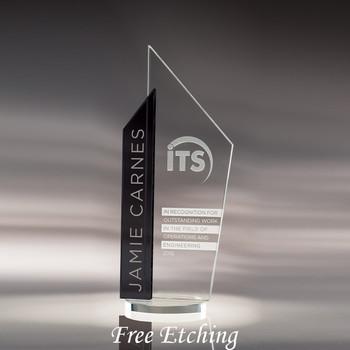 Skape Award Personalized Glass Trophy Awards