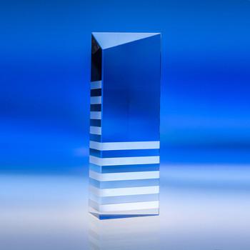 Highlight Award Crystal shown blank