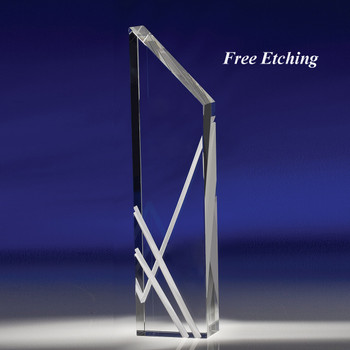 Perceptions Crystal Blank Award