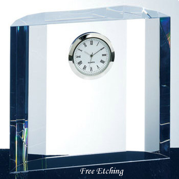 Fantasy Crystal Desk Clock Contemporary Table Clocks