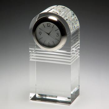Raise the Bar Crystal Clock Great Retirement Gift.