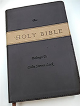Personalized Bible Great for Confirmation or First Communion Gifts.