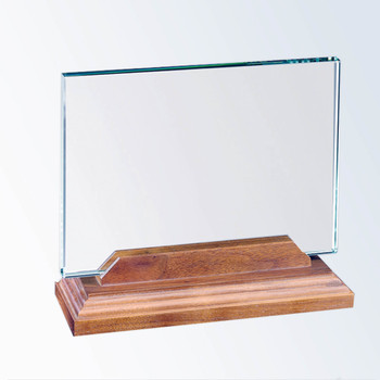 Horizontal Glass Award Great Teacher's Gift