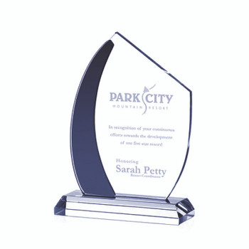 Makes a great award for those special sailing events.