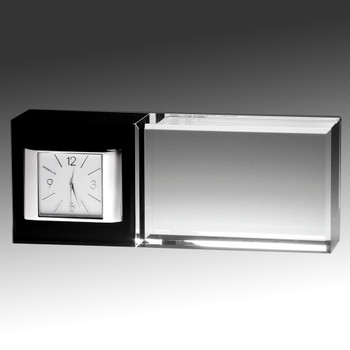 Elegant Crystal Clock A Keepsake worth Remembering!