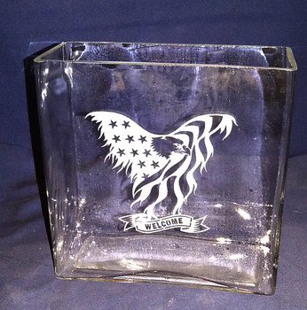 Veteran Welcome Vase