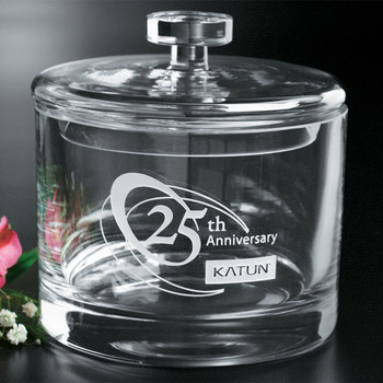 Corporate Gift - Anniversary Gift Candy Bow - Jar