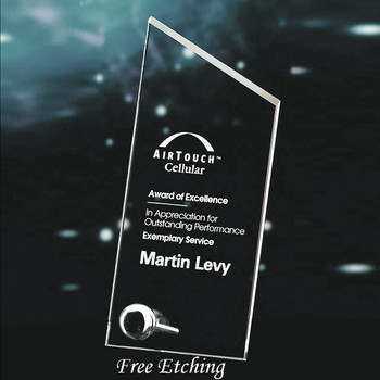 Jade Glass Studio Award  Corporate Plaques