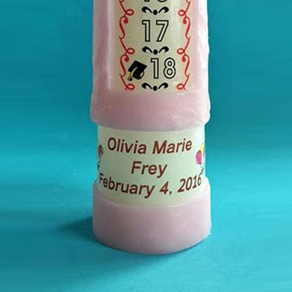 Personalized Birthday Candle