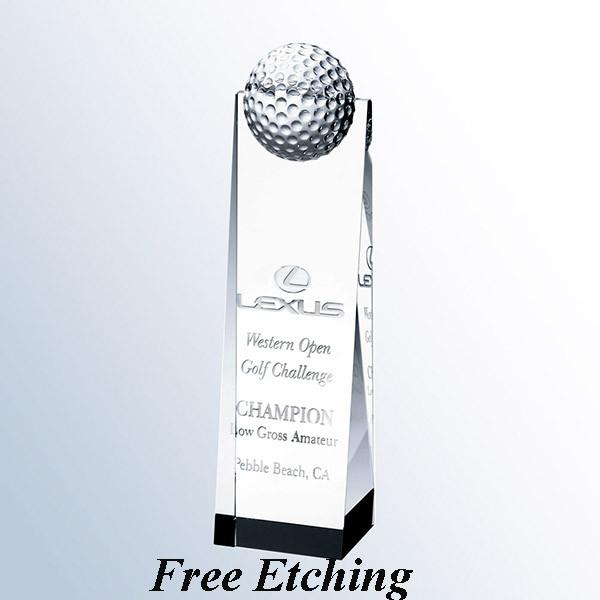 Golf Ball Tower Trophy Trophy Gift Ideas