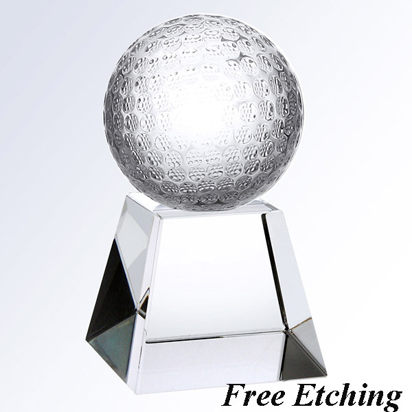 Golf Ball with Short Base Golf Trophy will make a nice presentation gift.