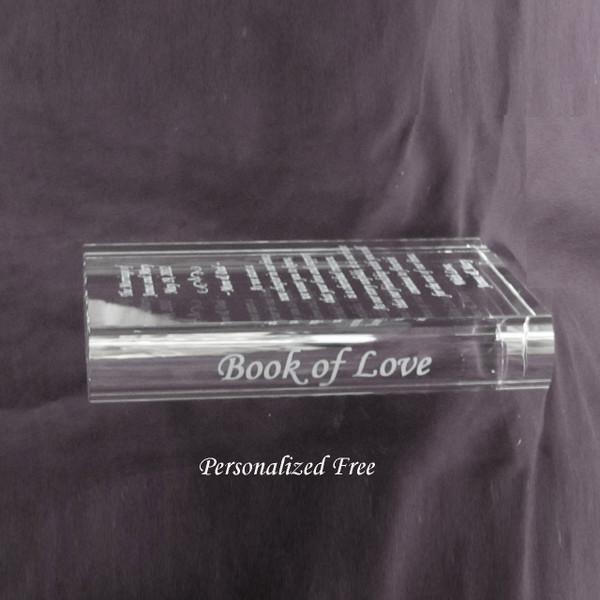 Crystal Book of Love Edge