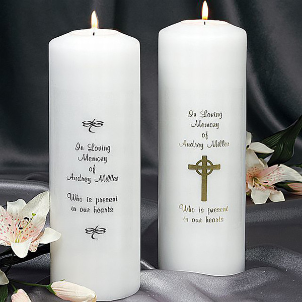 Memorial Candles Sympathy Gifts for Loss of Father/Mother