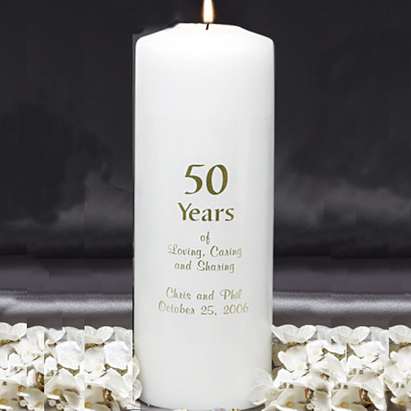 Anniversary Candle Custom Candles