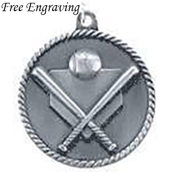Baseball Silver Medal Little League Medals