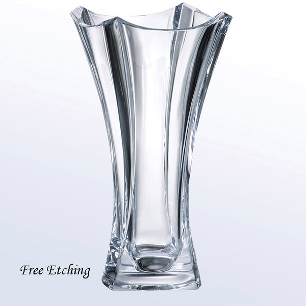 Colosseum Vase European Crystal Corporate Christmas Gifts