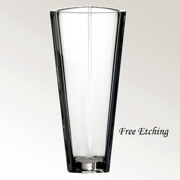 Triangle Crystal Vase Anniversary Gifts