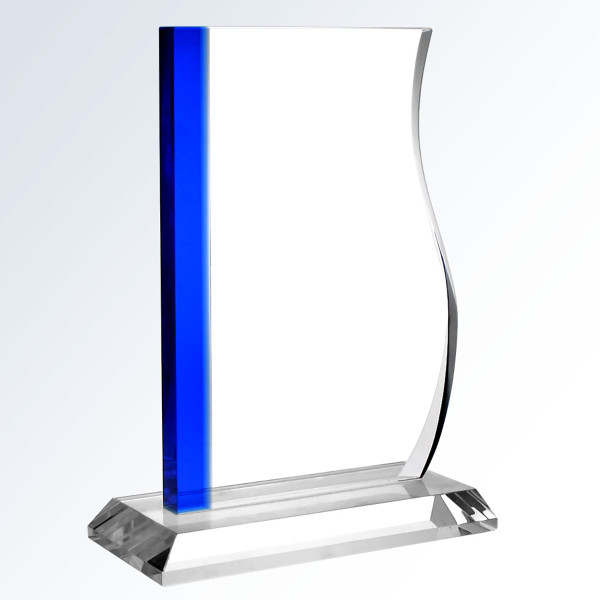Blue Progress Award Trophy Shop for Crystal Awards