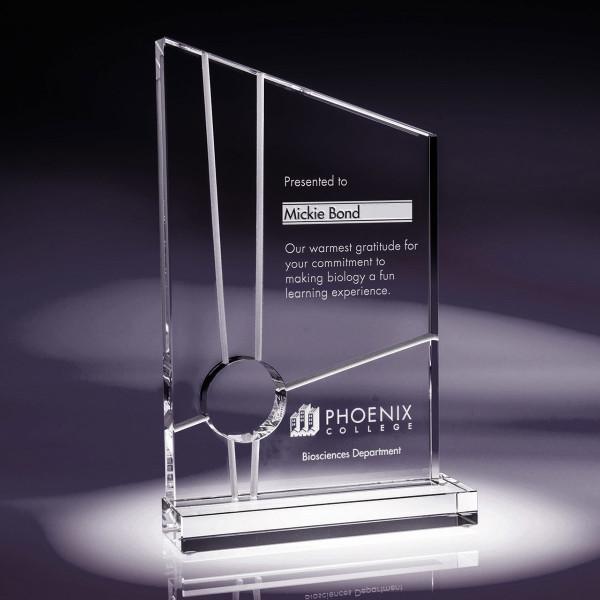 Interchange Crystal Award Buy Trophies Online