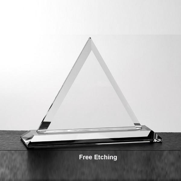 Beveled Triangle Award