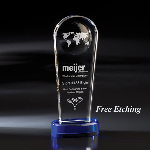 Atmosphere Crystal Award World Gifts