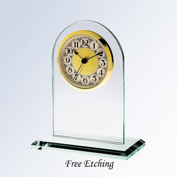 Fancy Arabic Arch Clock  Personalized Wedding Gifts