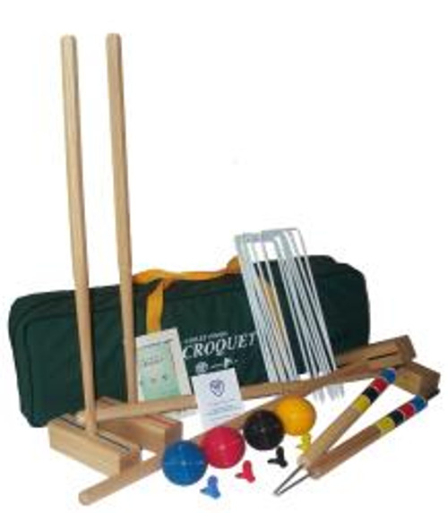 Croquet: The Sport Croquet Set for 4