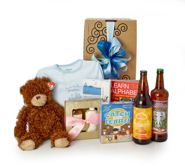 A Family Affair  - New Baby Brother Gift Box