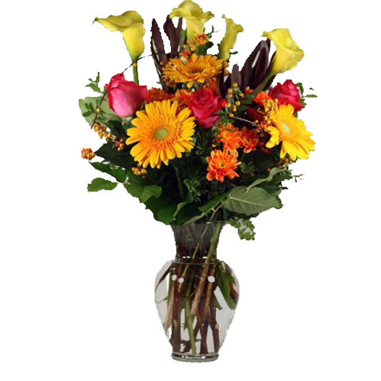 Fresh Floral Arrangement - Forget Me Not