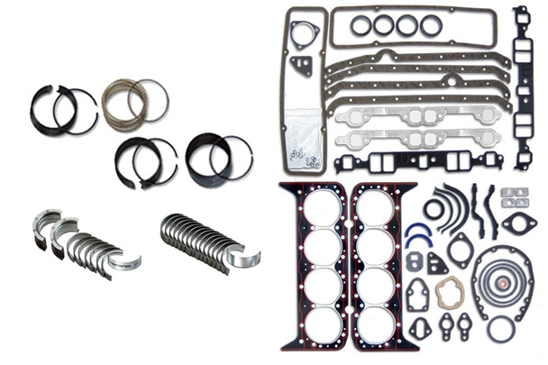 Chevy 350 5.7L Fit SBC Truck 1986-1995 Engine Rering Remain Kit