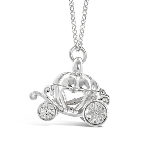 Magical Charm Necklace | Carriage / Adventure / Silver