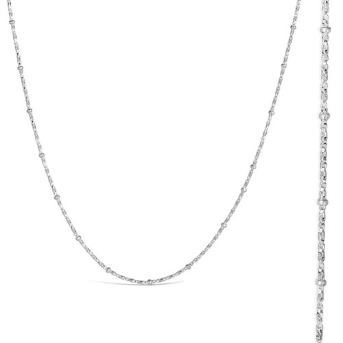 silver beaded chain