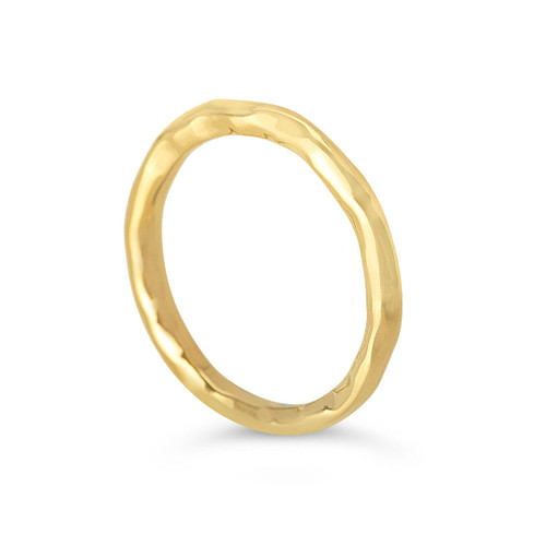 gold friendship band ring