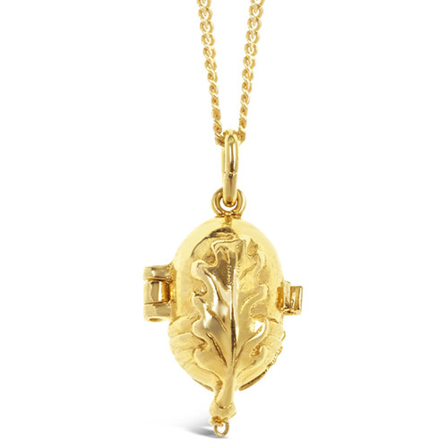 Magical Charm Necklace   Squirrel / Friendship / Gold