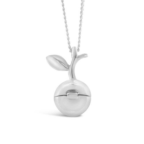 Magical Charm Necklace   Apple / Love / Silver