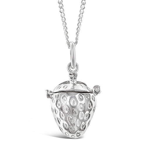 Magical Charm Necklace | Strawberry / Health / Silver