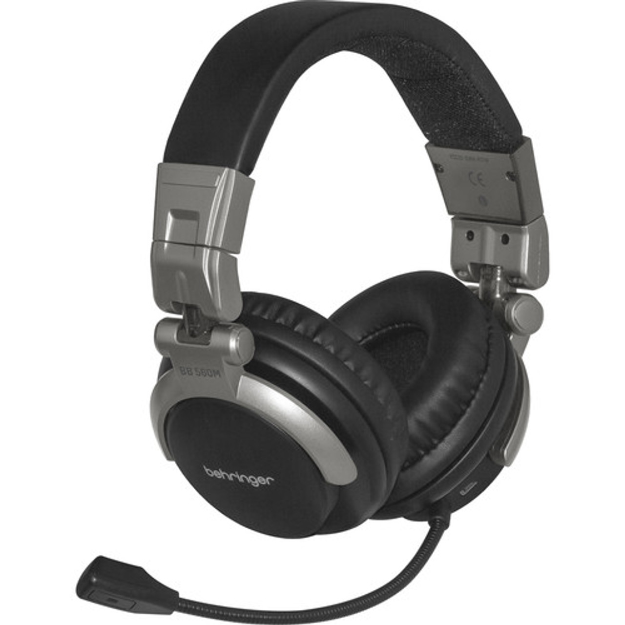 Behringer Bb 560m Bluetooth Headphones With Flexible Boom Microphone