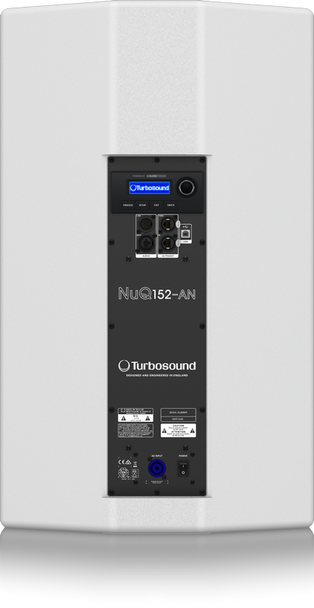 Turbosound NuQ152-AN-WH Powered Speaker