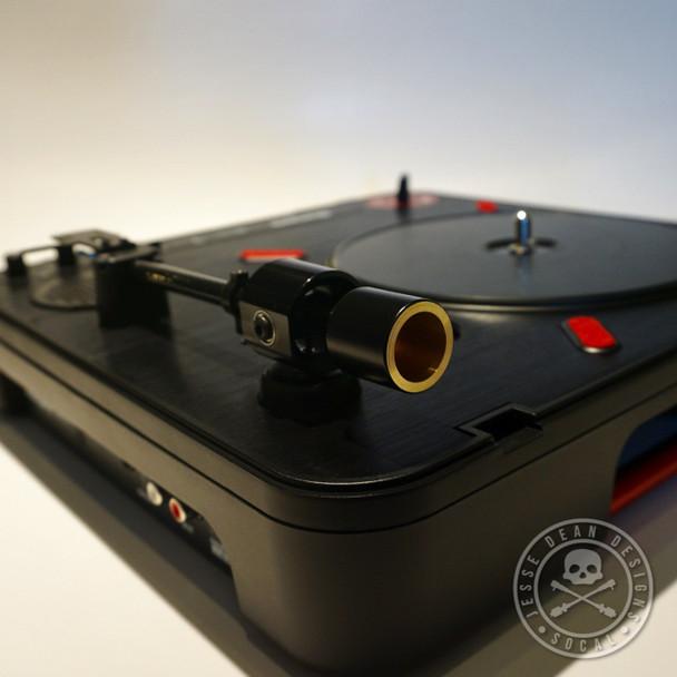 Jesse Dean Designs JDDPTA-BLK Portable Turntable Tone Arm Kit