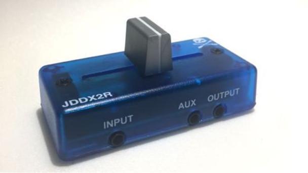 Jesse Dean Designs JDDX2R Portable Skratch Fader (JDDX2R-BLU)