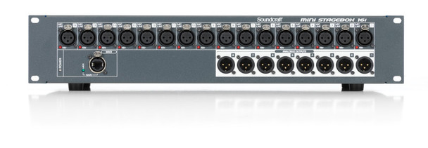 Soundcraft Mini Stagebox 16i Compact Digital Stageboxes With Remote Controlled I/O