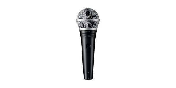 Shure PGA48-XLR Cardioid dynamic vocal microphone - XLR-XLR cable