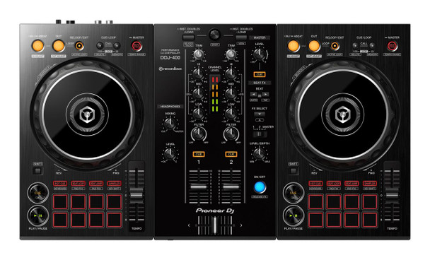 Pioneer DJ DDJ-400 Two-Channel DJ Controller For Rekordbox
