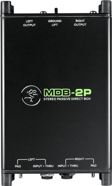 Mackie MDB-2P Stereo Passive Direct Box