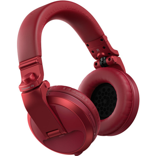 Pioneer DJ HDJ-X5BT-R DJ Headphones (Red)  Bluetooth