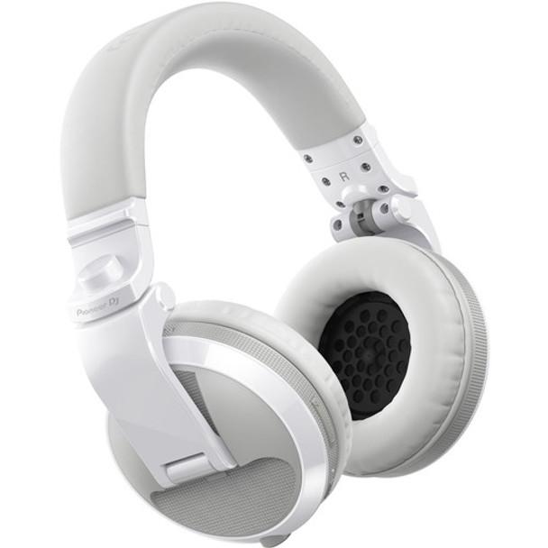 Pioneer DJ HDJ-X5BT-W DJ Headphones (White) Bluetooth