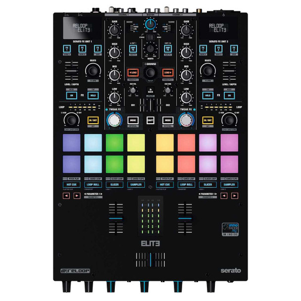 Reloop Reloop Elite High Performance DVS DJ Mixer For Serato DJ Pro