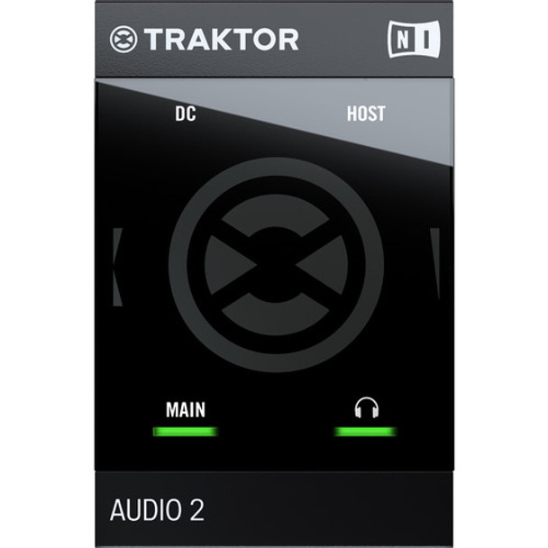 Native Instruments TRAKTOR AUDIO 2 MK2 Portable DJ Interface